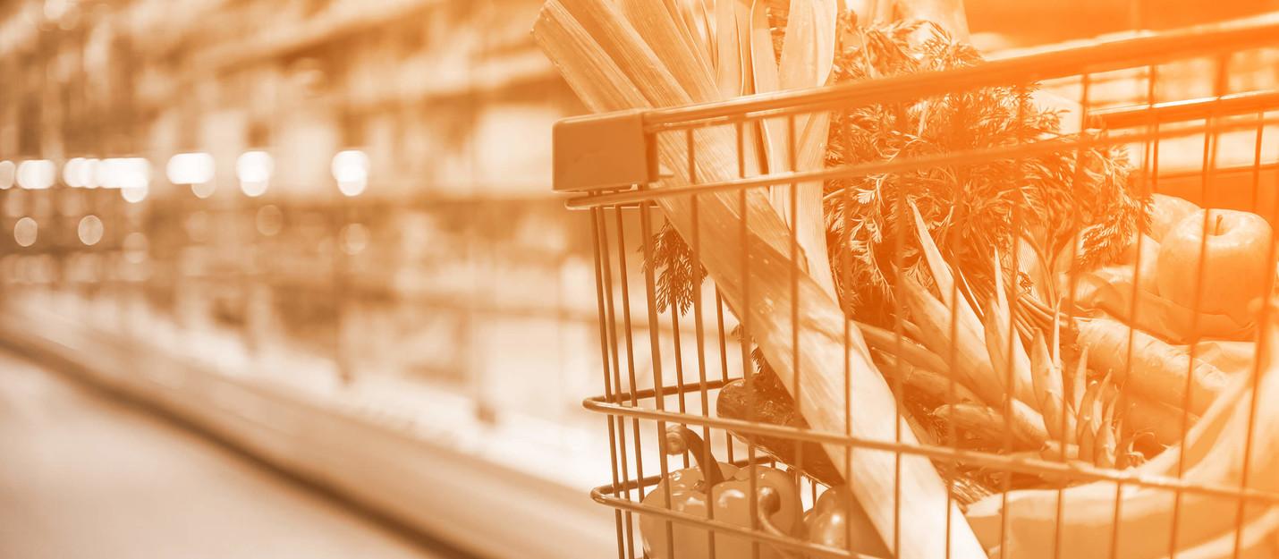 Takeasp-Lebensmittel-Handel